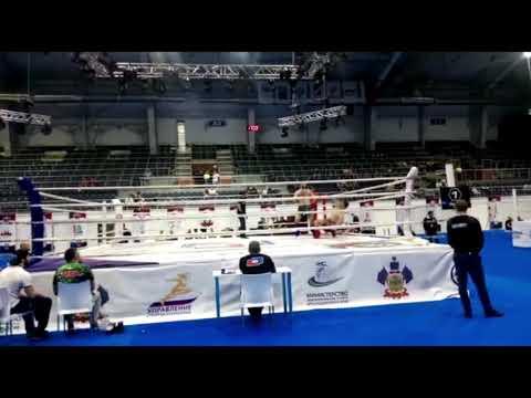 Нокаут Насрудина Насрудинова на Кубке России по ММА 2018