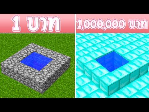 ถ้ามี บ่อน้ำ 1 บาท กับ บ่อน้ำ 1,000,000 บาท จะมีอะไรอยู่ข้างใน?! (การ์ตูนพากย์ไทย)