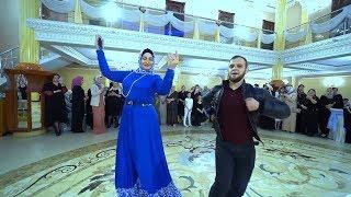 Чеченская Свадьба. Макка Межиева Танцует. Студия Шархан