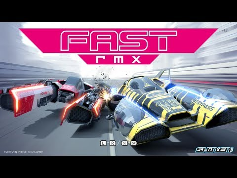 Fast RMX - First 3 Cups Gameplay