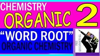 Organic Chemistry Nomenclature & Isomerism Part-2 SSLC (WORD ROOT)