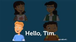 Tiếng Anh Trẻ em lớp 1. Phần mở đầu: Xin chào.