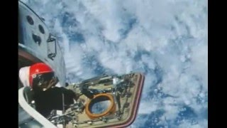 Apollo 9 CMP spacewalk