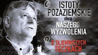 1.Istoty POZAZIEMSKIE chcą NASZEGO WYZWOLENIA 2.TAJEMNICZE TECZKI - Janusz Zagórski © VTV
