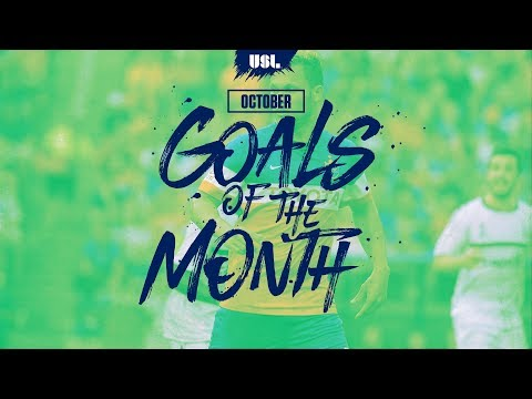 2017 USL Goal of the Month - October