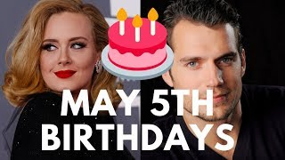 Famous People Born Today May 5th | Famous People Birthdays in May
