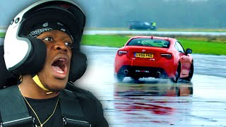 KSI slides on the Top Gear track | Star in a Reasonably Fast Car | Top Gear: Series 28