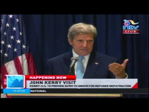 FULL VIDEO: US Secretaty of State John Kerry's press conference