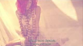 Rihanna   California King Bed  Letra en espaol lyrics on screen spanish