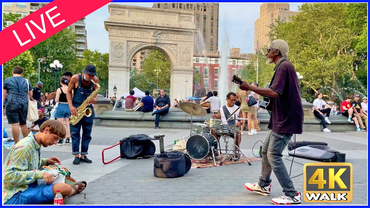【4K】WALK LIVE from NEW YORK!