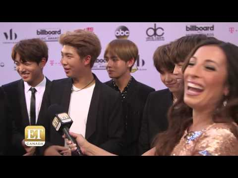 """BEST BTS Interview at BBMAs ✌ """"What is heartthrob?"""""""