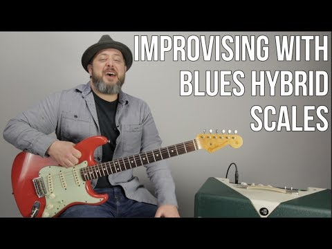 Blues Rock Lead Guitar Lesson - Improvising with Hybrid Blues Scales