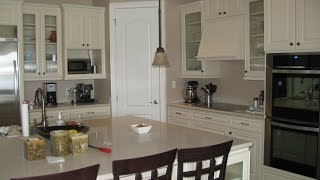 Kitchen And Fireplace By Orlando Cabinetry