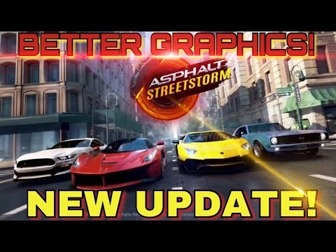 NEW UPDATE BETTER GRAPHICS AND SMOOTHER! | Asphalt Street Storm