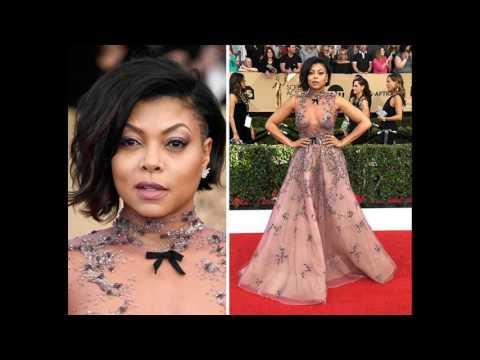 SAG Awards 2017 Red Carpet Fashion Best Dressed Celebrities