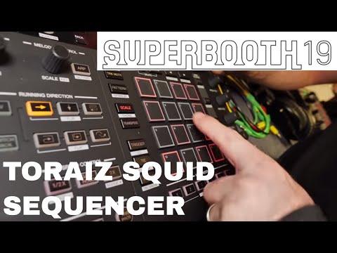 Superbooth 2019 - Toraiz Squid Sequencer