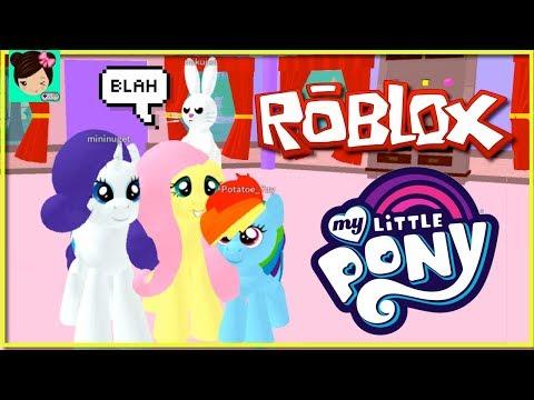 Roblox My Little Pony La Pelicula Roleplay Con Titi Juegos De Mlp