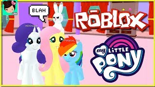 Roblox My Little Pony La Pelicula Rollenspiel con Titi - Juegos de MLP interactivos