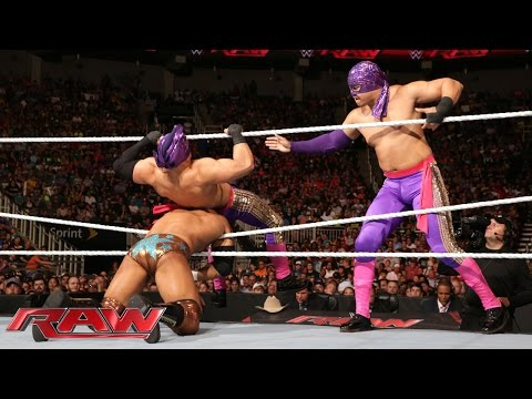 The Prime Time Players vs. Los Matadores: Raw, July 20, 2015