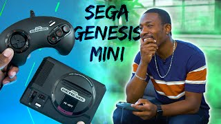 New SEGA Genesis Mini Unboxing and Gameplay!