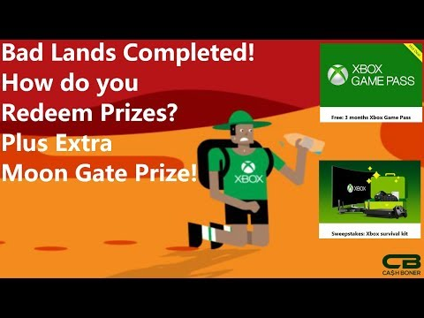 Bad Lands Completed - How To Redeem Your Rewards - 3 Free Months Of Xbox Game Pass & More!