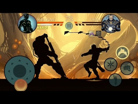 Shadow Fight 2 - TITAN - FINAL BOSS & END CREDITS.
