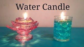 DIY Water Candle    Diwali Decoration   