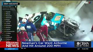 Ryan Newman hospitalized after terrifying crash at Daytona 500