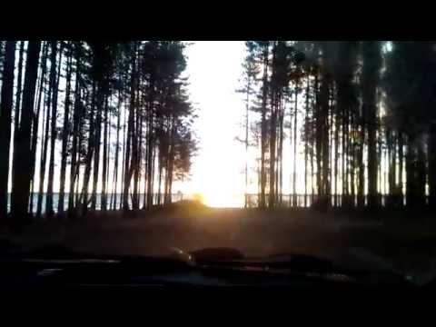 Карелия Паль озеро, рассвет