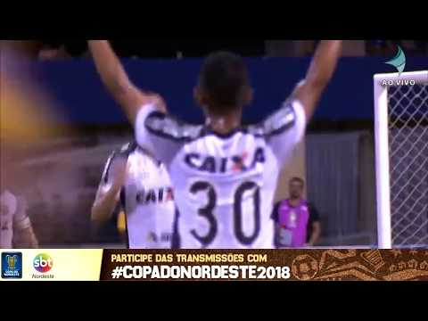 Veja os gols de CSA x Ceará pela Copa Nordeste