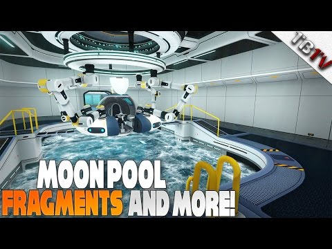 WHERE TO FIND MOON POOL FRAGMENT! - Subnautica Walkthrough E4 - Moon pool Location + PRAWN Suit ARMS