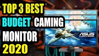 Top 3 best budget gaming monitor 2020 ...