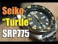 """Unboxing e recensione Seiko SRP775 """"Turtle"""" (ENGLISH SUB)"""
