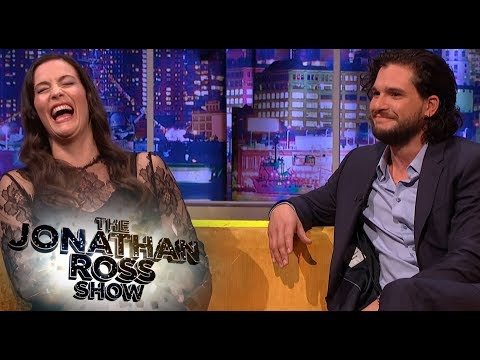 Kit Harington And Liv Tyler Share Engagement Stories  The Jonathan Ross