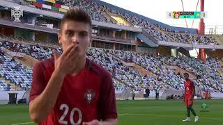SN sub-17: Portugal 10-0 Cazaquistão