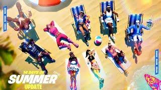 Fortnite 14 Days of Summer Update Gameplay! (Fortnite New Update)