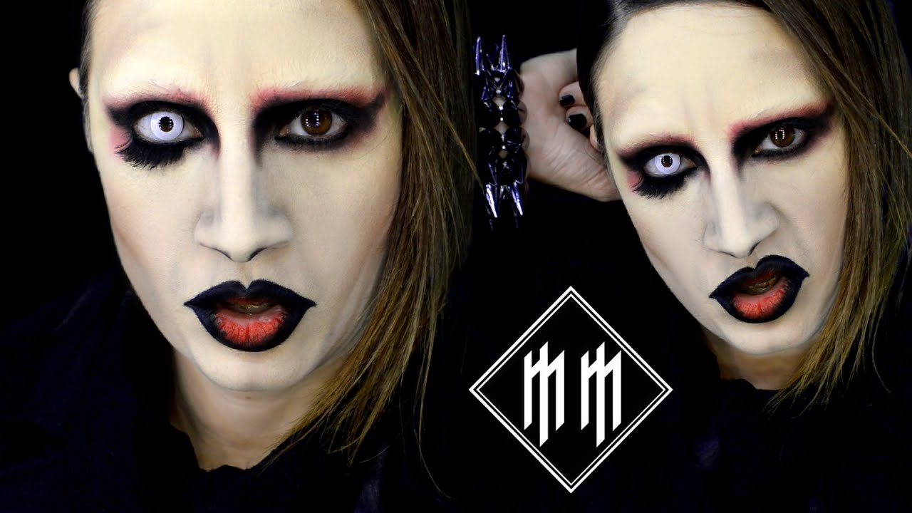 GET THE LOOK! Marilyn Manson Disfraz Maquillaje Cosplay / Goth ...
