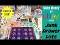 How to Make Money on eBay Selling Junk Drawer Lots