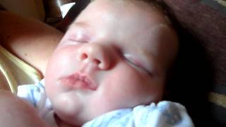 Our baby boy Charlie snoring at 3 weeks old xxxx