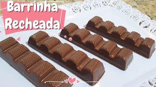 MINI BARRA DE CHOCOLATE RECHEADA