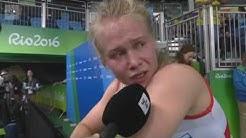"""Petra Ollin Haastattelu """"ihan järkyttävää"""" - Rion Olympialaiset 2016"""