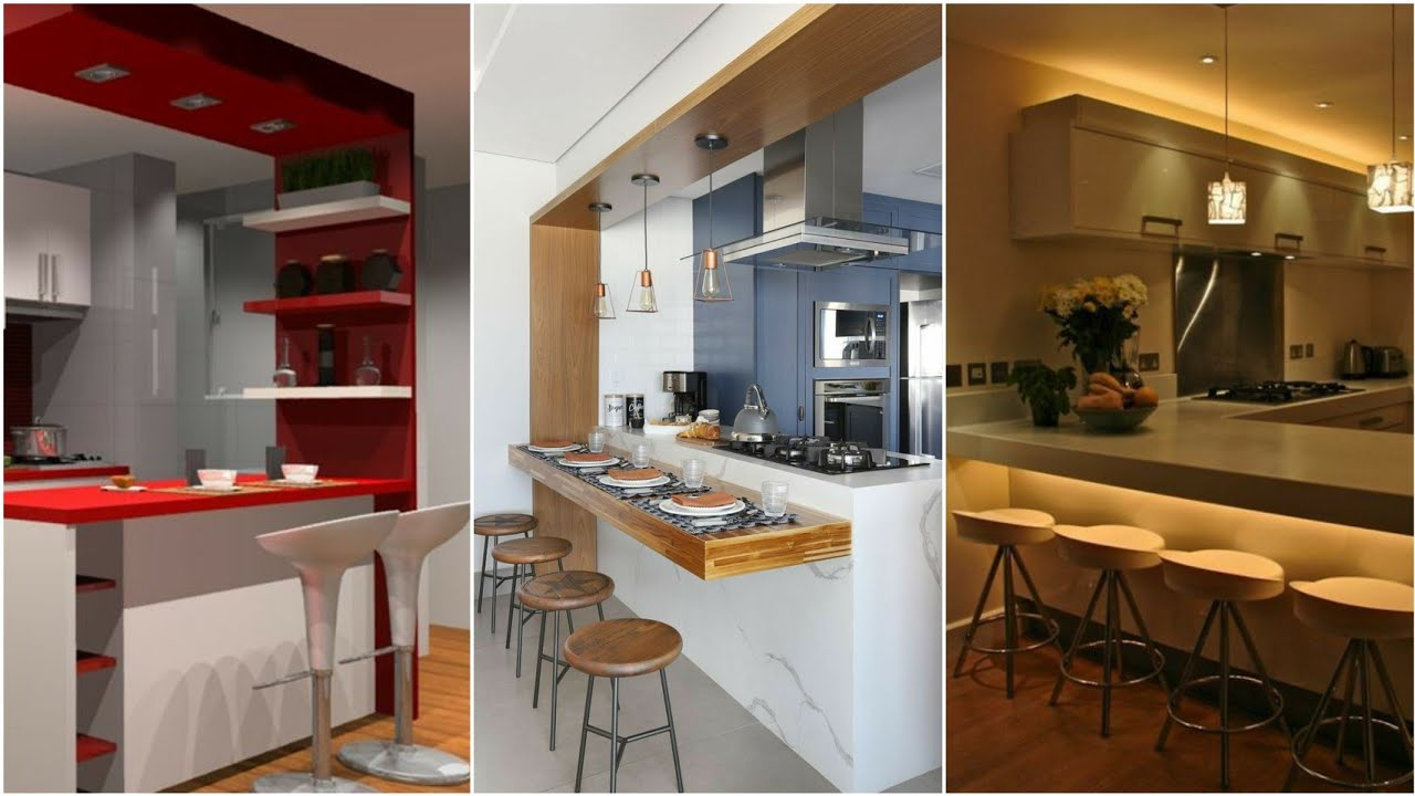 9 Open kitchen bar design ideas 9