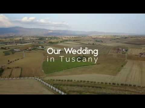 A Unique Wedding Video at a Country Villa in Tuscany, Italy