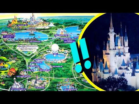How Big Is Walt Disney World | Disney Facts by Oh My Disney