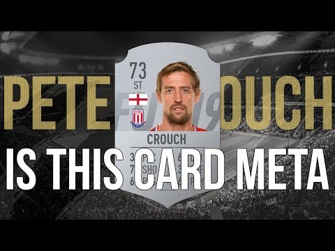 FIFA 19 - IS PETER CROUCH THE NEW META!?