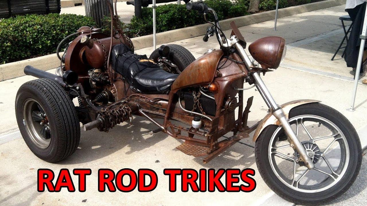 Rat Rod Amazing Trikes 2017 - YouTube