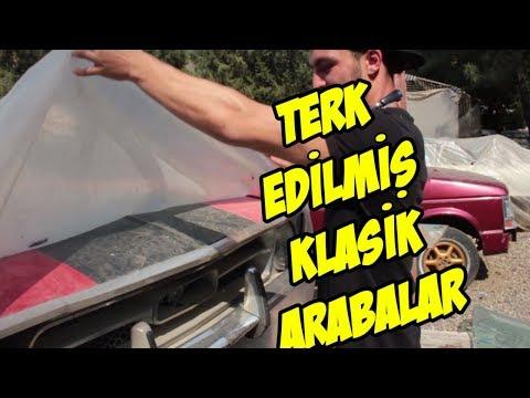 TERK EDİLMİŞ KLASİK ARABALAR (BUNLAR TÜRKİYE'DE)