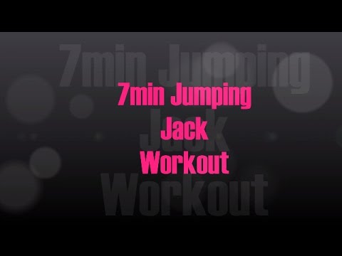 7 minute Jumping Jack Workout