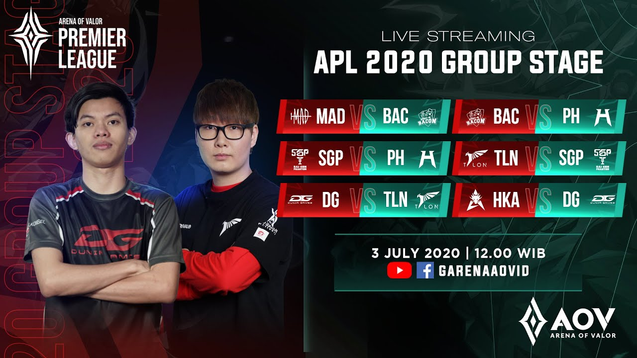 Hong Kong Attitude  vs DG Esports  - Group A - APL 2020