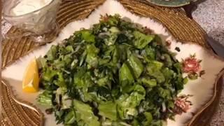 Зелёный салат! Самый летний салат